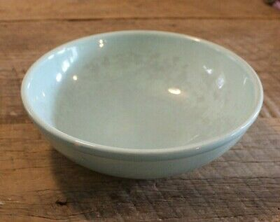 VTG Green T S & T Taylor Smith & Taylor LuRay Pastels Round Serving Mixing Bowl