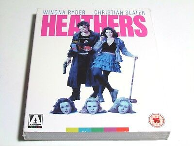 Heathers Blu-Ray Arrow Video Slip Cover Brand New Uk Region B