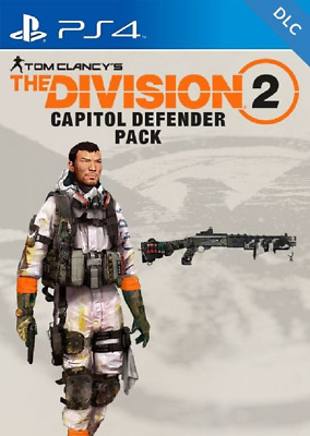 Tom Clancys The Division 2 - Capitol Defender DLC *PS4 Playstation 4 CD-KEY* 🔑