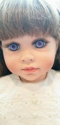 "Alexis 24"" Vinyl Doll By Lloyd Middleton Cheri Mcafooes Le 500 Royal Vienna"