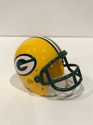 Green Bay Packers Vintage 90's Throwback NFL Mini Football Helmet