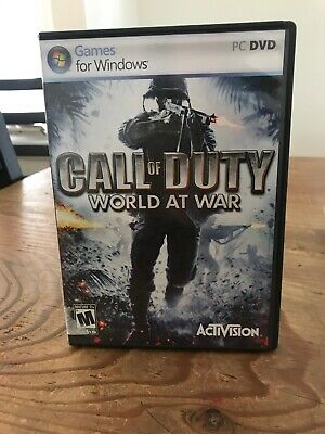 Call of Duty World at War PC DVD Game 2008 by Activision for Windows PC