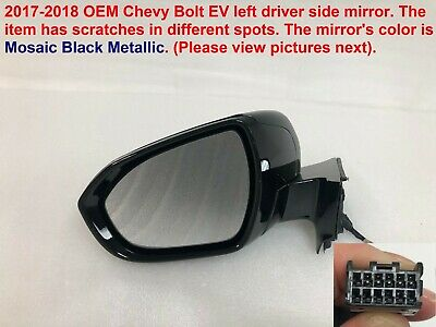 2017-2018 chevy bolt ev left side mirror #1