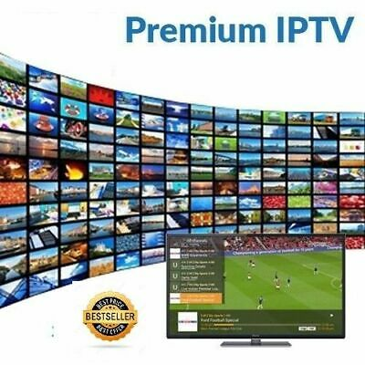 12 Months Premium IPTV for Samsung & LG TV +26.000 Ch&Vod (MAG,iOS,Firestick,..)