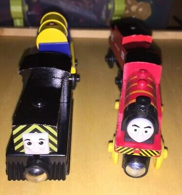 Thomas Friends Wooden Railway Train Tank Engine Victor Mavis Fuel Car Lot