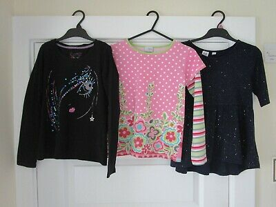 Girls NEXT Sequin Girl Age 9 Yrs Next Floral Top Age 9 Yrs Gap Sparkly Top 8 Yrs