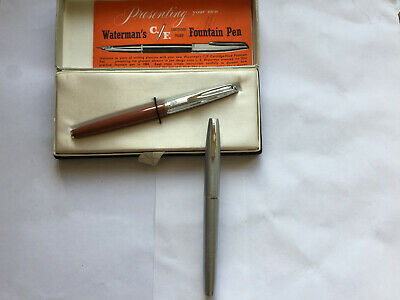 Vintage Watermans & Sheaffer Fountain Pens Mint & Boxed No Reserve