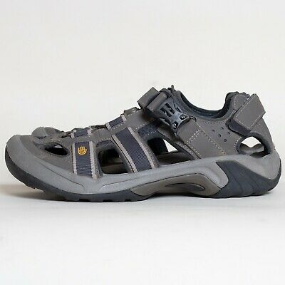 c3ad7aa877d9 TEVA Mens Omnium Closed Toe Hiking Water Sport Sandals Size 9 Bungee Cord  6148