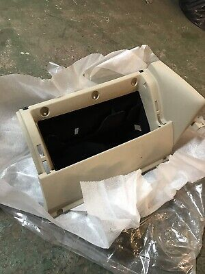 Beige Glovebox Insert UK RHD Golf MK4 Bora 1J2857101A New Genuine VW