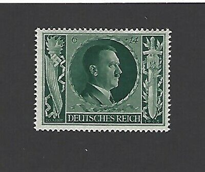 MNH Adolph Hitler Postage stamp / 1943 Birthday / Nazi Germany / Third Reich