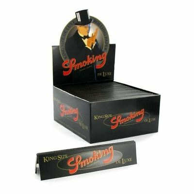 Smoking Rolling Paper King Size Deluxe Box Of 50 Booklets