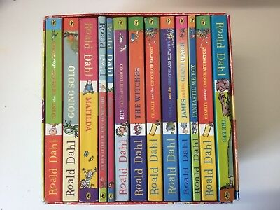 Roald Dahl Box Set 13 Books - RRP £93.85