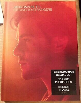 Jack Savoretti - Singing To Strangers (Deluxe Edition CD + Photo Book, 2019)