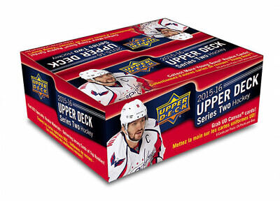 2015-16 Upper Deck Series 2 Hockey RETAIL Box New/Sealed