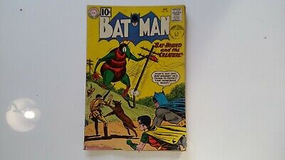 Dc comic batman Oct no 143, damaged 1960s