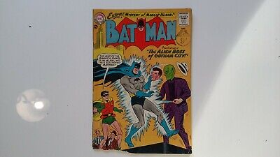 Dc comic batman Dec  no 169 1960s damaged