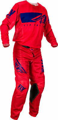 Fly Racing Kinetic Mesh Shield Pants 40 Red/Blue 373-32240
