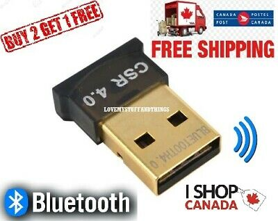USB Bluetooth WIFI Adapter 4.0 CSR High Speed Dongle Wireless Mini Network PC