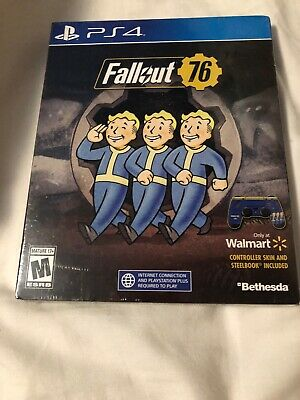 fallout 76 ps4 With Collector Steelbook