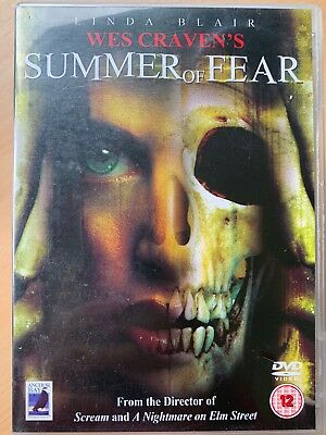Summer Of Fear DVD 1978 Wes Craven Culte Horreur With Linda Blair Rare Anchor