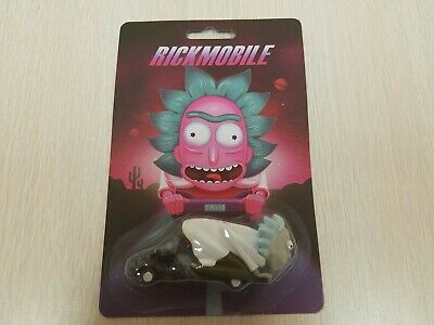 Adult Swim Rick and Morty Rickmobile 1:64 Diecast Car! Cartoon Network Exclusive