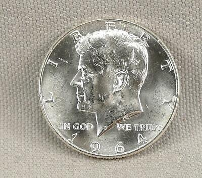 1964-D Silver Brilliant Uncirculated Kennedy Half Dollar!! No Reserve!