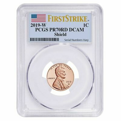 2019 W Pcgs Pr70 Lincoln Cent Proof Pr 70 Dcam First Strike Presale.