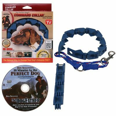 New Don Sullivan Perfect Dog Command Collar Training Pets Prong Choke w/ DVD US