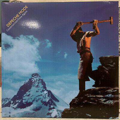 Depeche Mode - Construction Time Again LP 180 Gram Vinyl - SEALED NEW RECORD