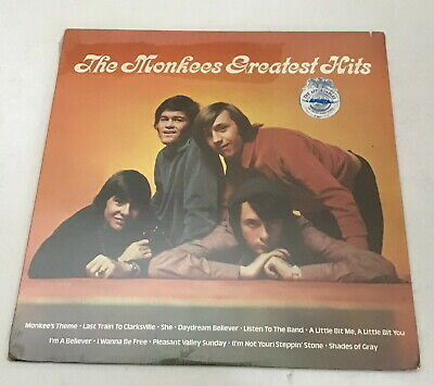 THE MONKEES GREATEST HITS LP SEALED - Arista ALB6-8313