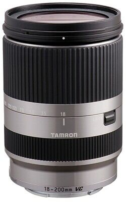 Tamron 18-200mm 1:3, 5-6, 3 Di III Silver for Sony E-Mount