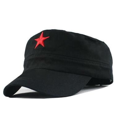 Che Guevara Red Star Military FLAT CAP HAT 3 Color