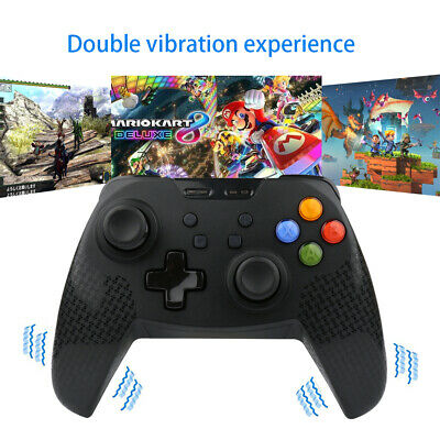 For Nintendo Switch Pro Controller Wireless GamePad Joystick Gaming Mate Black
