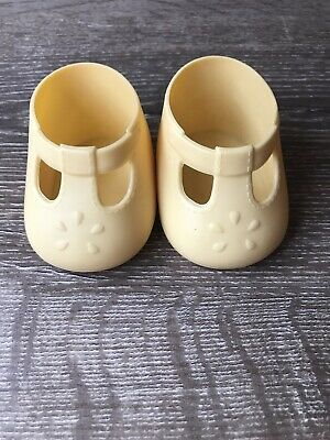 My Child Doll Original Yellow Tbar Shoes