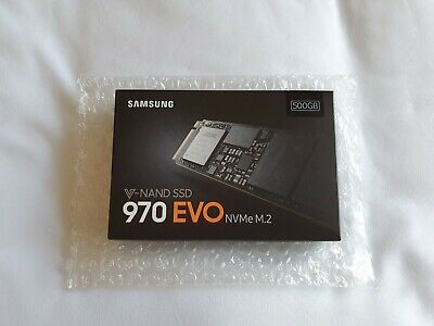 500GB Samsung 970 Evo NVMe M.2 SSD [BRAND NEW SEALED!]