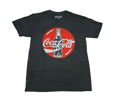 Coke Crest Enjoy Refreshing Coca Cola Logo Vintage Retro Drink Mens T Shirt