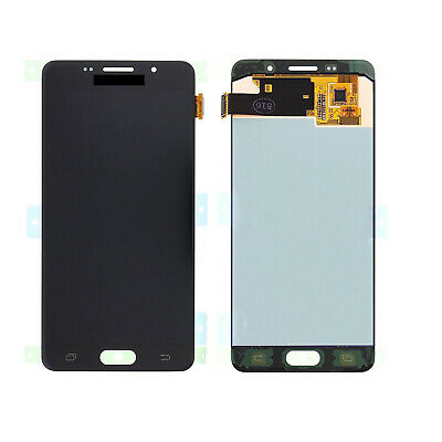 Per Samsung Galaxy A5 2016 SM-A510F LCD Display Touch Screen Assembly Nero h2
