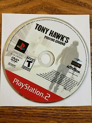 Tony Hawk's Proving Ground PS2 Game Tested Very Clean (Sony PlayStation 2, 2007)