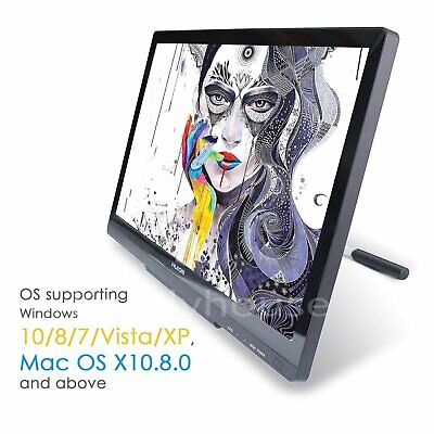 """Huion Graphics Pen Tablet Monitor HD 21.5"""" Display GT-220 V2 For Artist Drawing"""