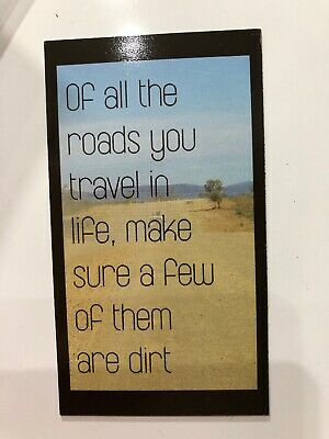 Fridge Magnet   Travel Quote   Inspirational   Travel   Camping