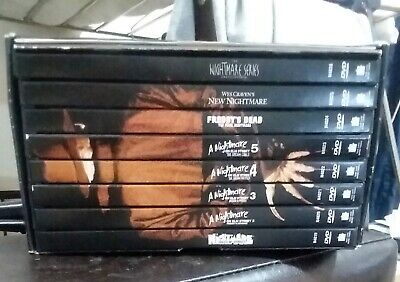 The Nightmare On Elm Street Collection Whole Lot of 8 DVD Movies PreOwned