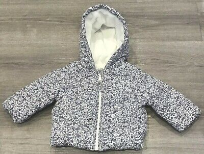 Mothercare Baby Girls Fleece Lined Coat Age 3-6 Months New With Tags