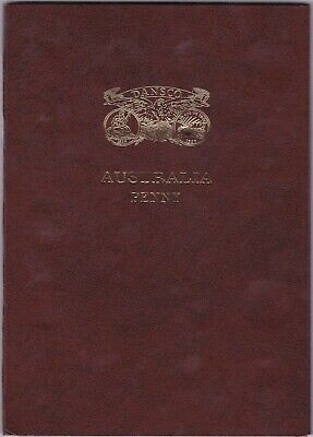 PENNY SET COINS - NO 1925 1930 - IN AUST COIN ALBUM (includes 1946)