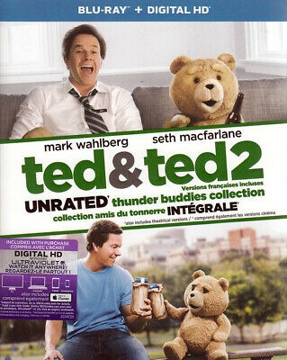 Ted And Ted 2 Thunder Buddies Collection (Blu-Ray) (Bilingual) (Dvd)