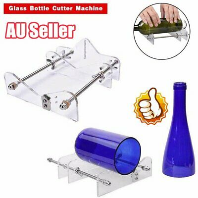 AU Glass Bottles Cutter Wine Beer Bottle Jar Machine DIY Handmade Cutting Tool N