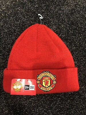 Manchester United Beanie - Official Merchandise - Baby's - BNWT - One Size