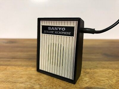 Sanyo Dynamic Microphone Model HM-8 Made In Japan