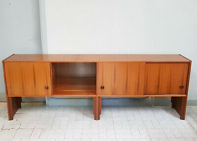 Long Svedish Sideboard In Teak Age 1960 - 70  Modern Scandinavian  Design