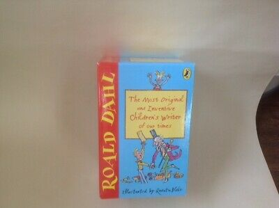ROALD DAHL 10 BOOK BOX SET inc many of his best titles. Brand new and unused