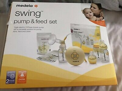 Medela Swing Pump and Feed Set - Electric Breast Pump and Feeding Accessories